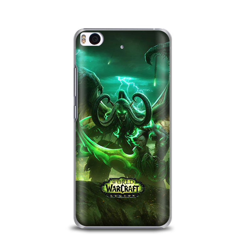 WOW-Warcraft-Of-World-Originality-Hard-PC-Phone-Case-Shell-Cover-For-Xiaomi-Redmi-3S-1